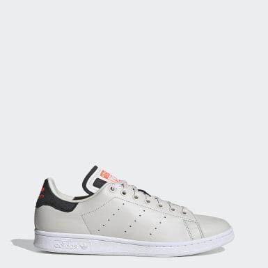 Men Originals Grey Stan Smith Shoes