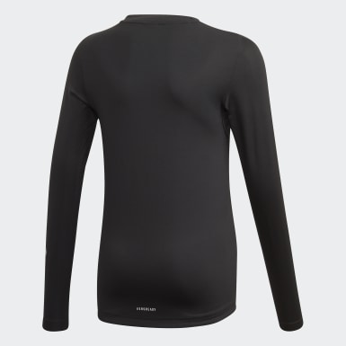 Camiseta TECHFIT Negro Niño Training