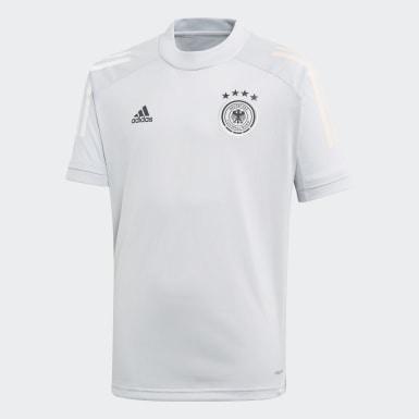 Chlapci Futbal Siva Dres Germany Training