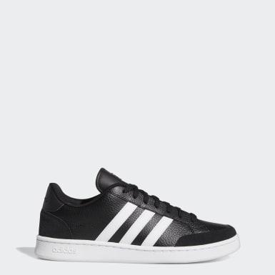 Sport Inspired สีดำ รองเท้า Grand Court SE