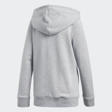 Women Originals Grey Trefoil Hoodie