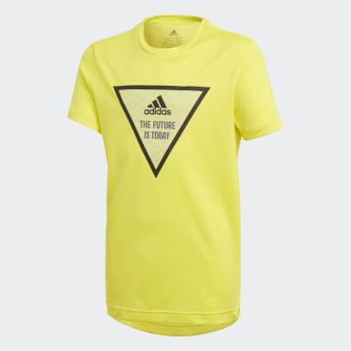 Camiseta XFG Amarillo Niño Yoga