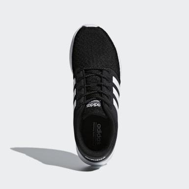 Women Essentials Black Cloudfoam QT Racer Shoes