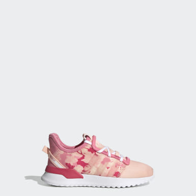 Kinder Originals U_Path Run Schuh Rosa