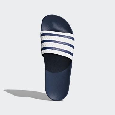 Originals modrá Pantofle adilette