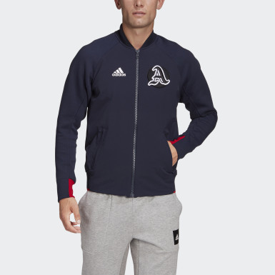 Men Athletics Blue VRCT Jacket