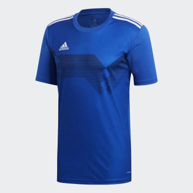 Heren Training Blauw Campeon 19 Voetbalshirt