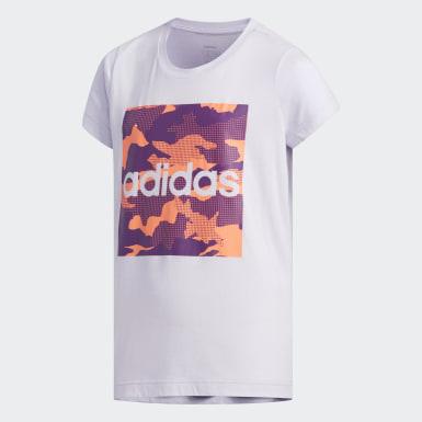 T-shirt Roxo Criança Athletics