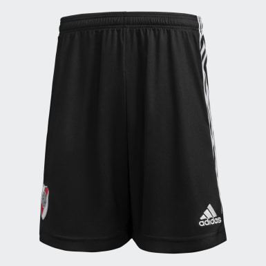 Shorts Local River Plate 20/21 Negro Niño Fútbol