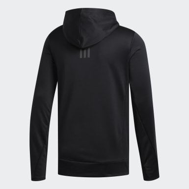 Men Running Black Own the Run Hoodie