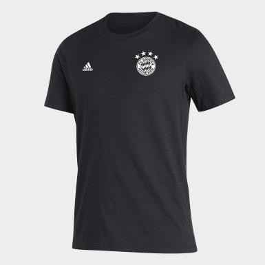 T-shirt FC Bayern noir Hommes Soccer