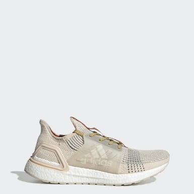 Men's Originals Beige Ultraboost 19 Wood Wood Shoes