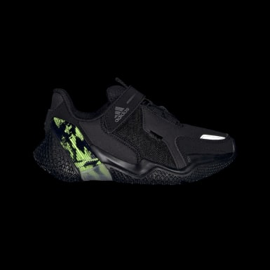 Kids Running Black 4UTURE RNR Shoes