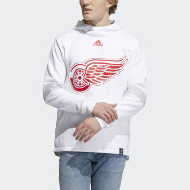 Men's Athletics Multi Red Wings Under the Lights Pullover Hoodie