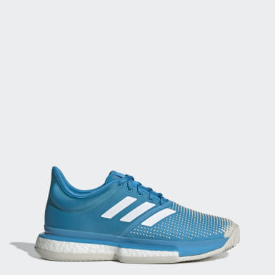 Women's Tennis Turquoise SoleCourt Clay Shoes