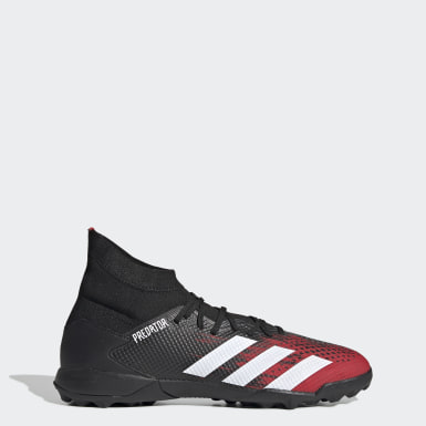 Football Black Predator 20.3 Turf Boots