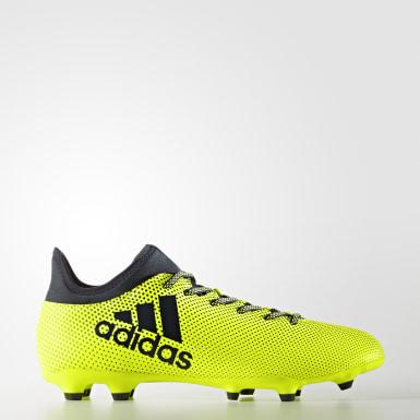 Calzado de Fútbol X 17.3 Terreno Firme Amarillo Hombre Fútbol