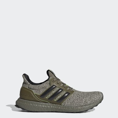Running Green Ultraboost Yoda Shoes