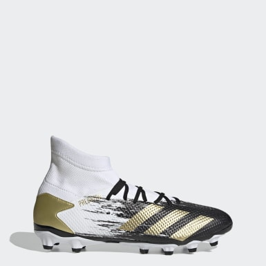 Heren Voetbal Wit Predator Mutator 20.3 Multi-Ground Voetbalschoenen