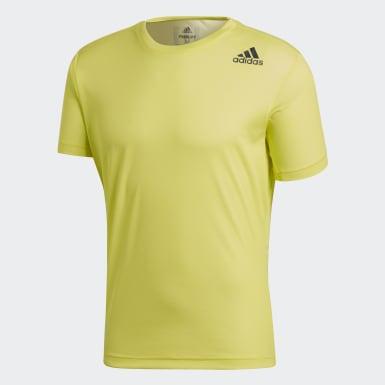 Erkek Training Sarı FreeLIft Climalite Tişört