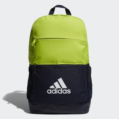 เทรนนิง สีเขียว กระเป๋าสะพายหลังทรงคลาสสิก