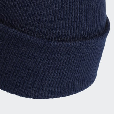 Bonnet Adicolor Cuff Bleu Originals
