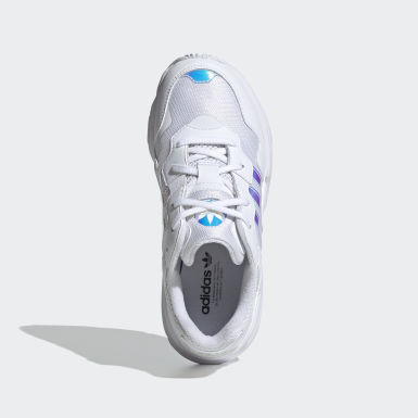 Kids Originals White Yung-96 Shoes