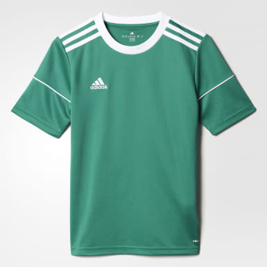 Youth 8-16 Years Training Green Squadra 17 Jersey