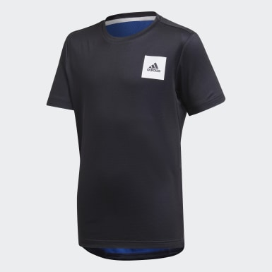 Camiseta AEROREADY Azul Niño Training