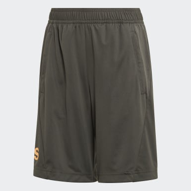 Shorts Training Equipment Verde Niño Training