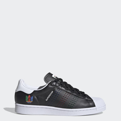 Men's Originals Black Superstar Shoes