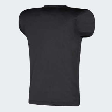 Men's Football Black Practice Jersey