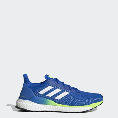 Men's Running Blue Solarboost 19 Shoes
