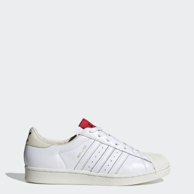 Men's Originals White 424 Shell-Toe Shoes