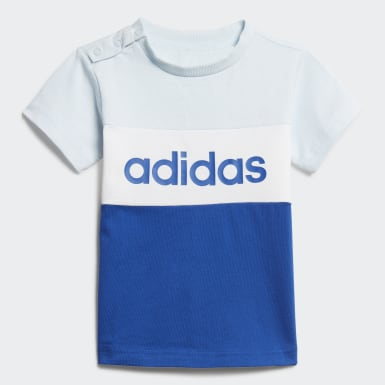 Kinder Athletics Colorblock Set Blau