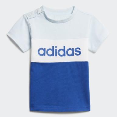 Ensemble Colorblock Bleu Enfants Athletics