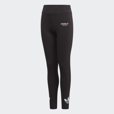 Leggings adicolor Nero Ragazza Originals