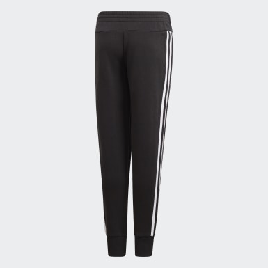Girls Training Black Must Haves 3-Stripes Pants