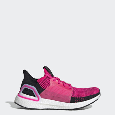 Women Running Pink Ultraboost 19 Shoes