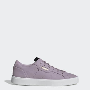 Dames Originals Paars adidas Sleek Schoenen