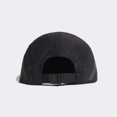 Gorra para correr AEROREADY Five-Panel Negro Running