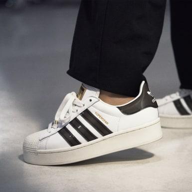 Sapatos Bold Superstar Branco Mulher Originals