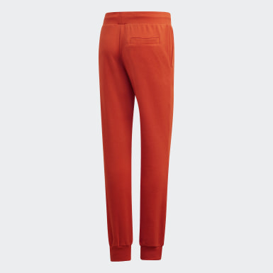Women Originals Orange Cuffed Pants