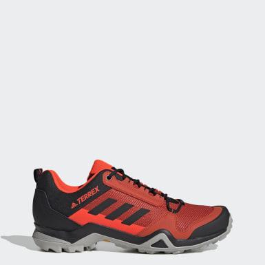 Sapatos de Caminhada AX3 TERREX Vermelho TERREX