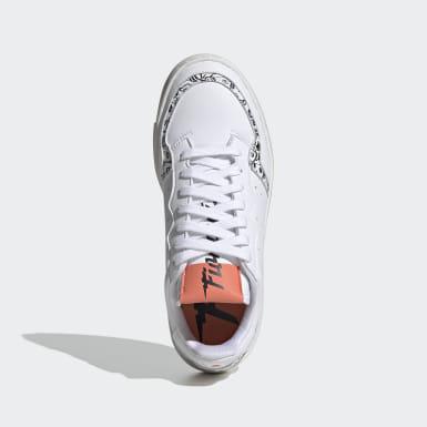 Frauen Originals Supercourt Schuh Weiß