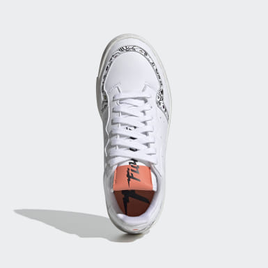 Women Originals White Supercourt Shoes