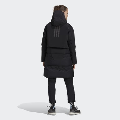 Parka MYSHELTER COLD.RDY Down Negro Mujer Outdoor Urbano