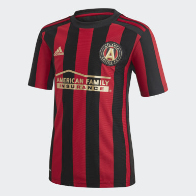 Youth Soccer Black Atlanta United FC Home Jersey