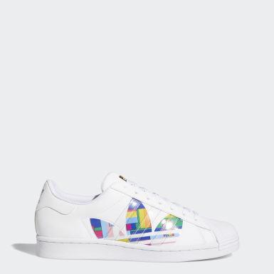 Männer Originals Superstar Pride Schuh Weiß