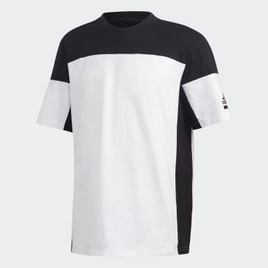 ผู้ชาย Athletics สีขาว เสื้อยืด adidas Z.N.E.